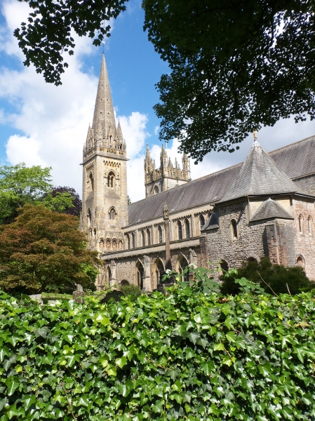 Llandaff Cathedral, south face
