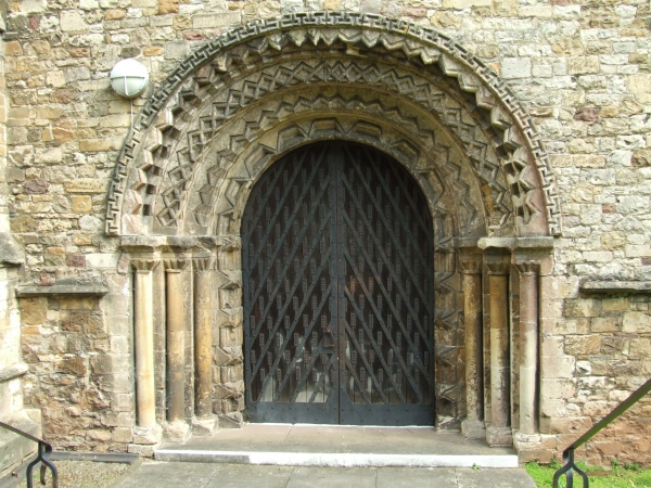 Llandaff Cathedral, South Door