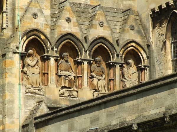 The Four Evangelists, Llandaff Cathedral