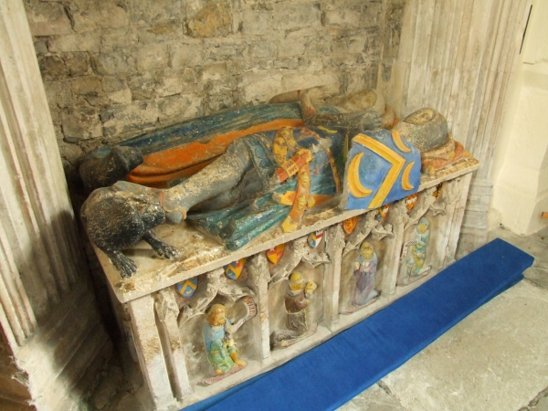 Bekerolles Tomb (c.1351), St Tathan's Church