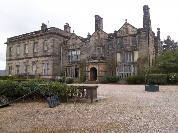 Farnley Hall - new and old wings