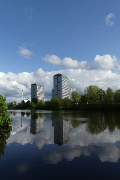 The Gorbals and River Clyde